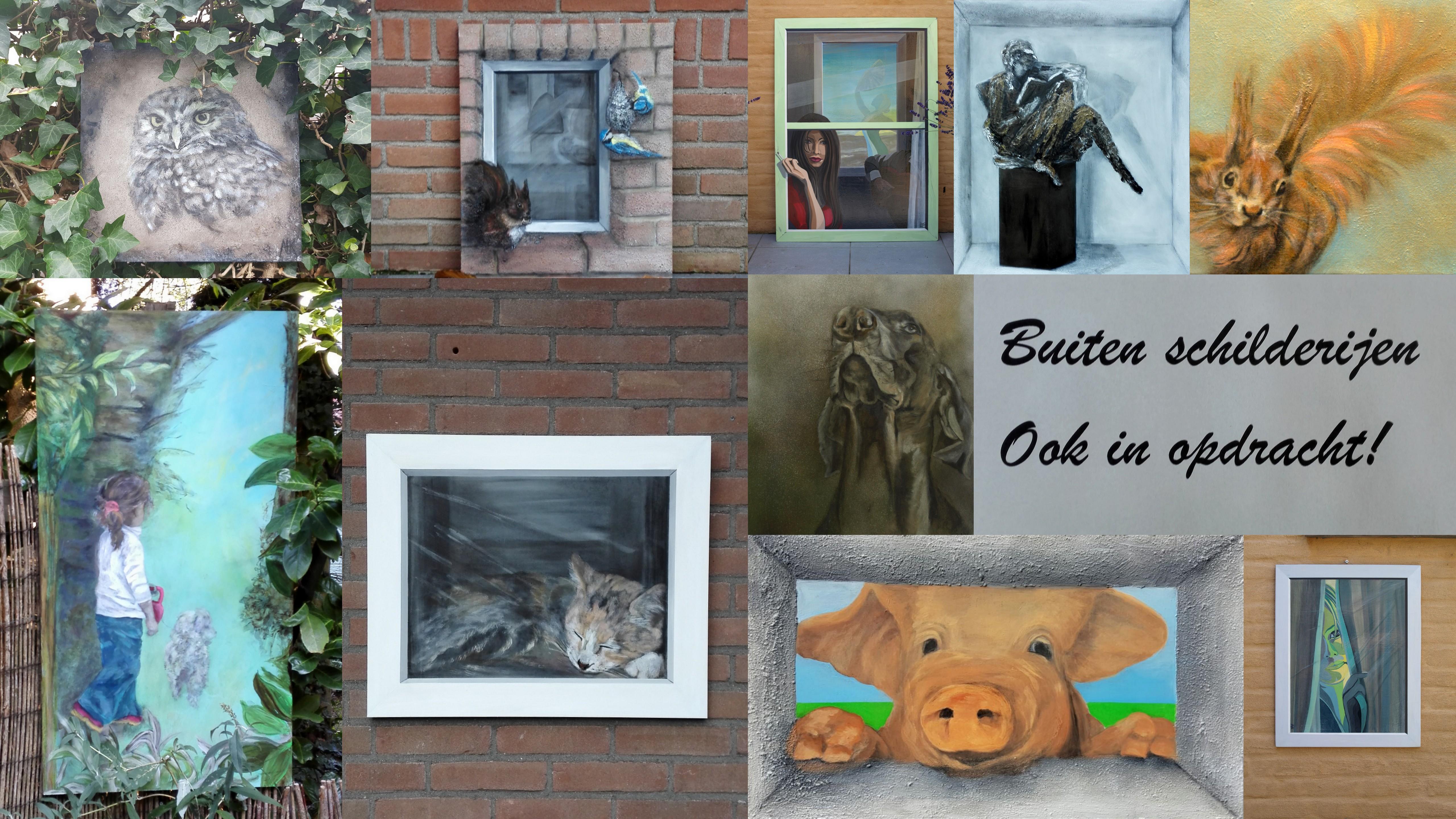 schilderijen voor buiten